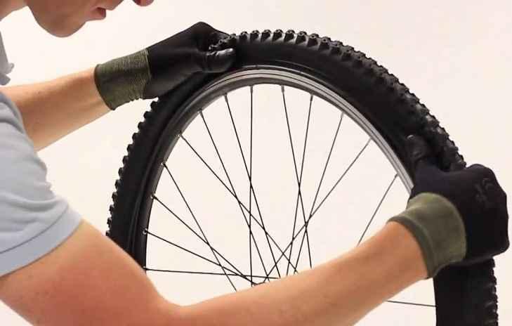 Bisiklet, patlayan lastik onarımı
