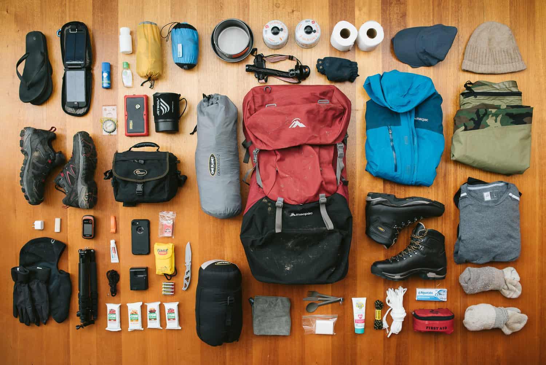 Kamp yapmak için gerekli malzemeler