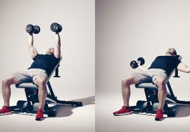 İncline Dumbell Flyes