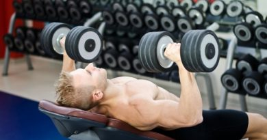 İncline Dumbell Bench Press