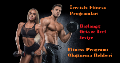 Fitness Program Rehberi