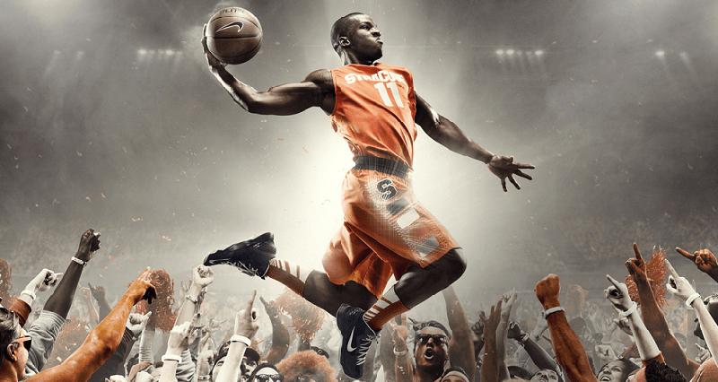 Basketbol zıplama antrenmanı