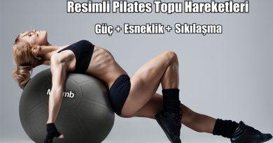 Evde Pilates Topu Hareketleri