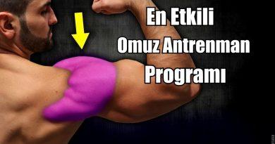 En iyi omuz antrenman programı